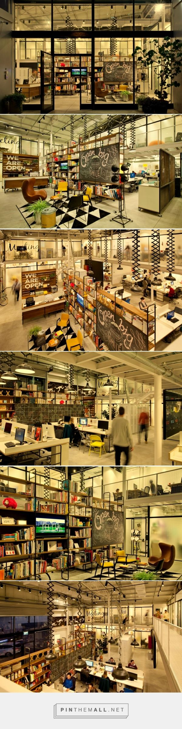 OPEN office by Dan Troim, Tel Aviv – Israel » Retail Design Blog... - a grouped images picture - Pin Them All