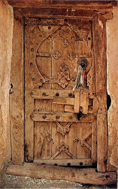 Primitive Wooden Door