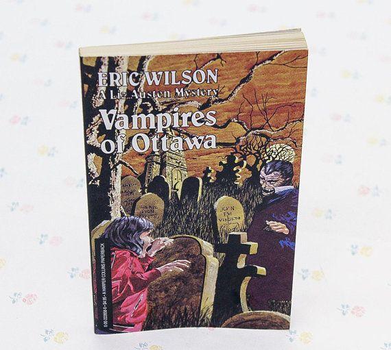 Vampires of Ottawa Vintage Horror Vampire Novels for Teens
