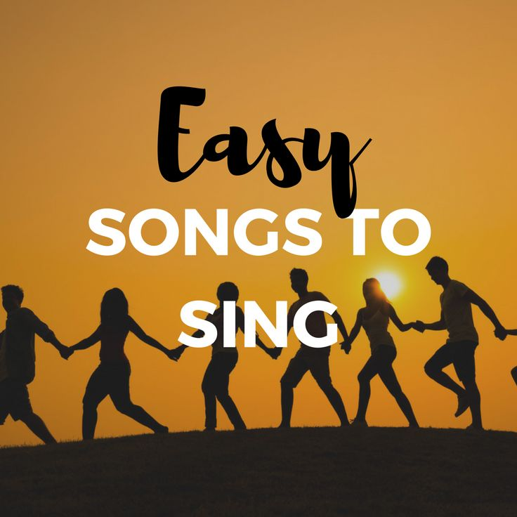 Chose an easy song to sing and impress your audience.