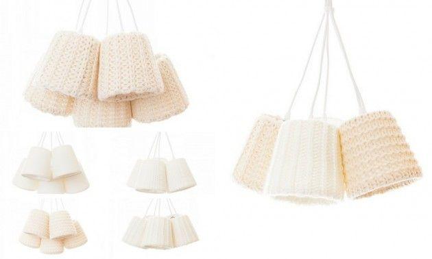 Wool White, No5 Lekre lamper i ull - #ull #lamper #Klyngelampe #wool #lamps #white