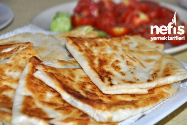 Kahvaltılık Mini Gözleme - (Turkish) - Mini Pancake Breakfast