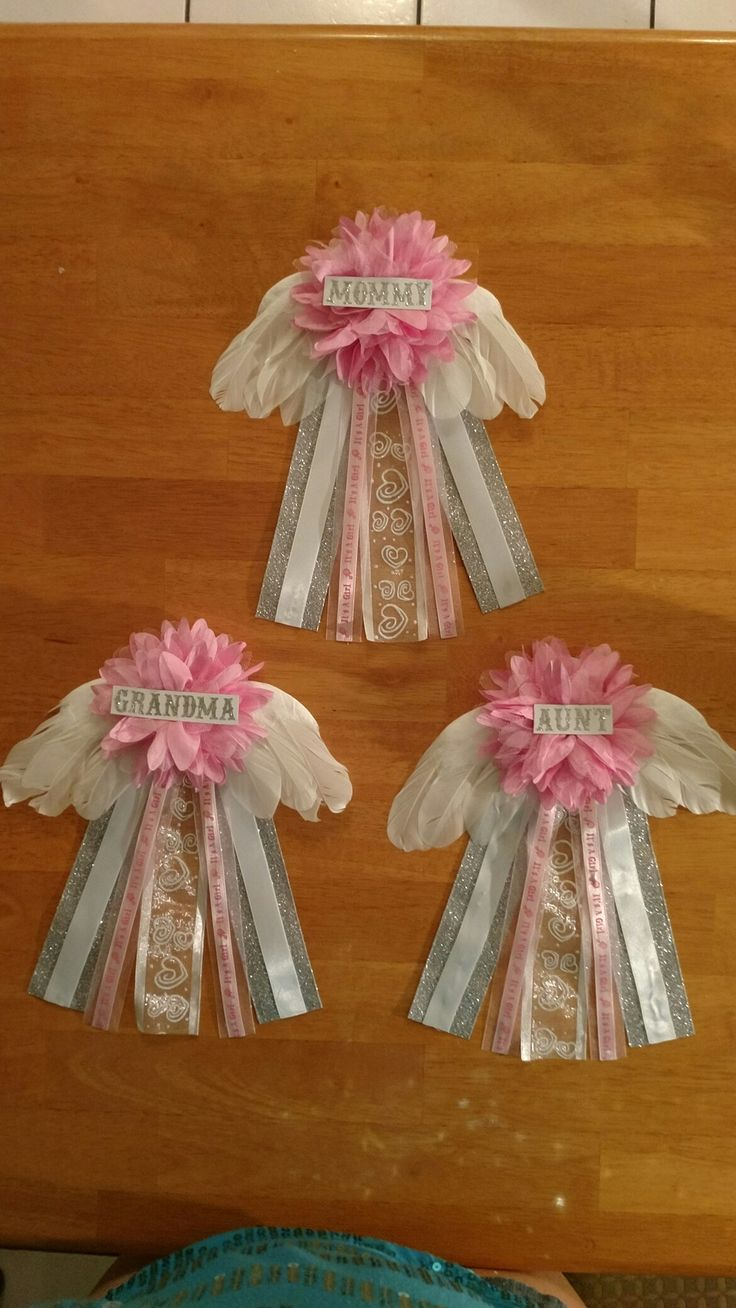 Thank Heaven For Little Girls Baby Shower Theme Really Easy To Make And Super Cute In 2019 -6770