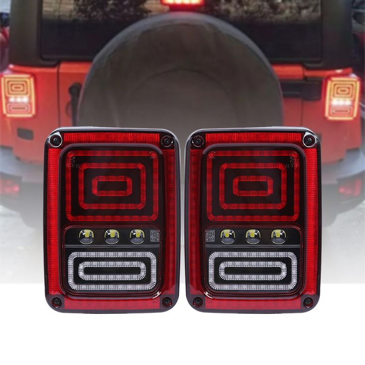 2Pcs LED Tail Lights Brake Lamp 2th Generation US for Jeep Wrangler 07-16/07-15 Rear Turn Signal Reverse Backup Light Taillight. Yesterday's price: US $85.00 (69.49 EUR). Today's price: US $85.00 (69.44 EUR). Discount: 45%.