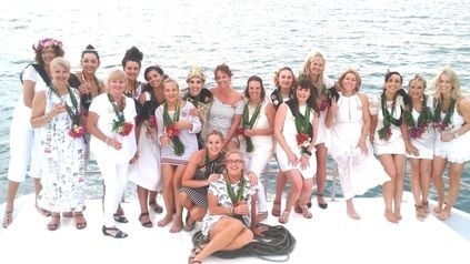 Hen Party Fiji Wedding Charter Boat
