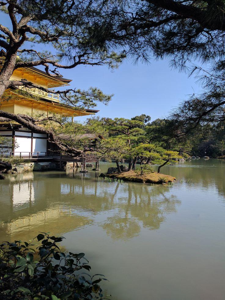 Kinkaku-ji Temple(Golden Pavilion), Kyoto, Japan