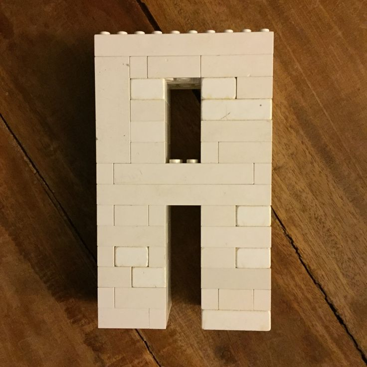 Lego letter A