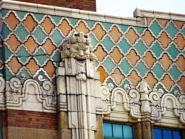 art deco building, detroit