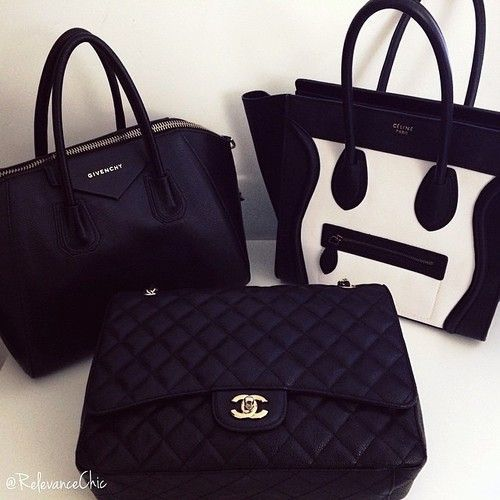 givenchy, celine, chanel.  can this picture get anymore perfect?
