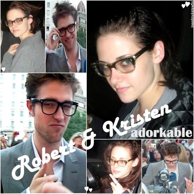 So cute. Robert PattinsonKristen StewartTwilightSwanJourneyCream Study  BlindsSwansThe Journey