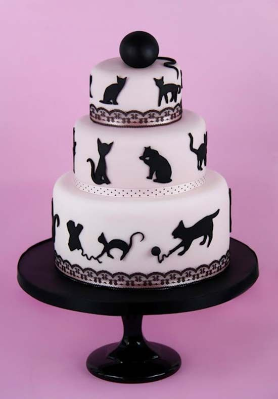 36 best Cat Themed Cakes images on Pinterest Cat cakes Themed