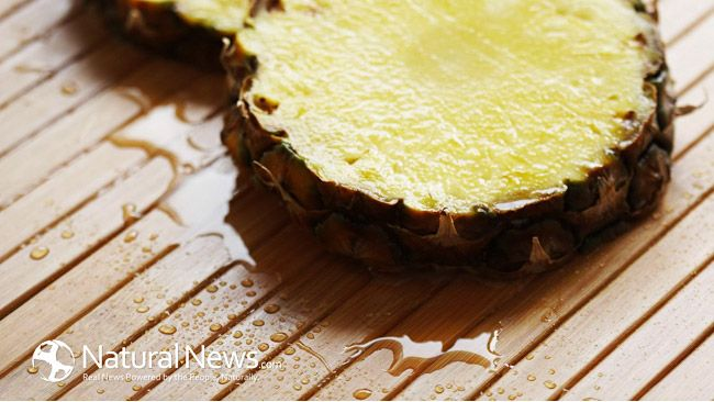 Pineapple Juice Found To Be 500% More Effective Than Cough Syrup
