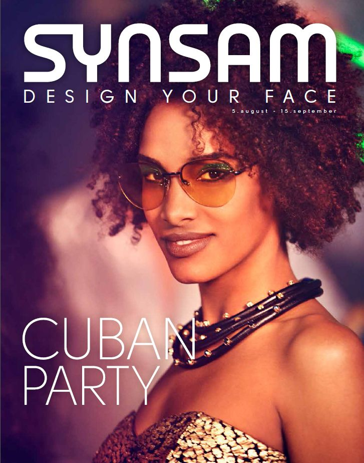 Cover - Synsam Kundemagasin August 2014