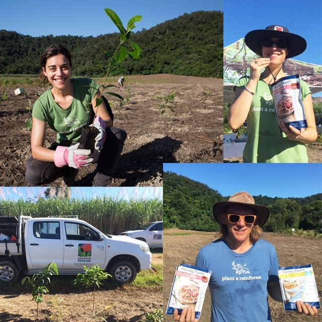 Power Super Foods was very happy to support the recent Rainforest Rescue Planting Day up in the Daintree. We nourished the helpers with our NEW Morning Munch while they reclaimed old sugar cane land for the rainforest. What a fantastic cause! #savetheforests
