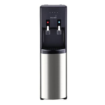 Primo 601160 Black/SS Bottom-Loading Cold and Hot Water Cooler ENERGY STAR