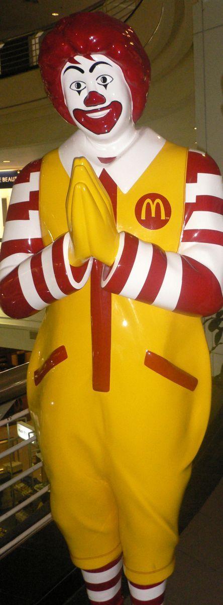 You got: Ronald McDonald