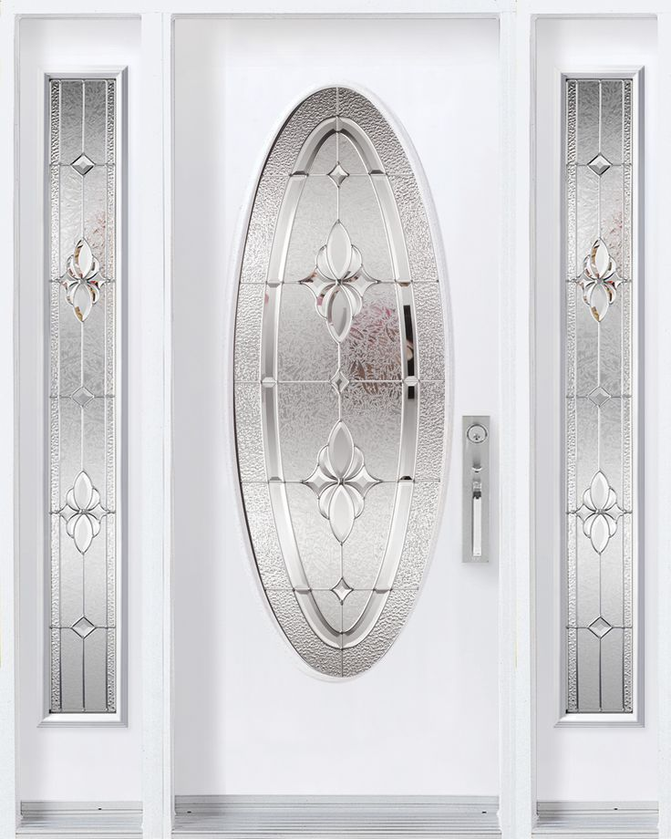 Oval Glass Kits Are Very Classy...check Out This Mystique Full Oval · Front  Door DesignFront ...