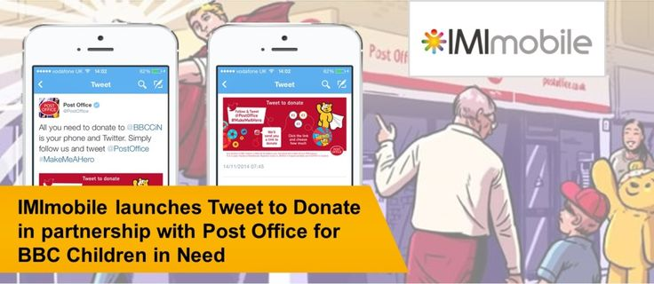 IMImobile launches Tweet to Donate in partnership with Post Office