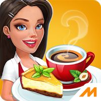 My Cafe Recipes Stories 1.9.42 MOD APK  Data Casual Games