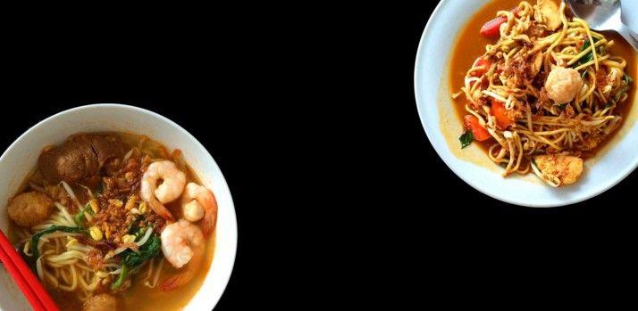 Cara membuat Mi Kangkung Campur Seafood