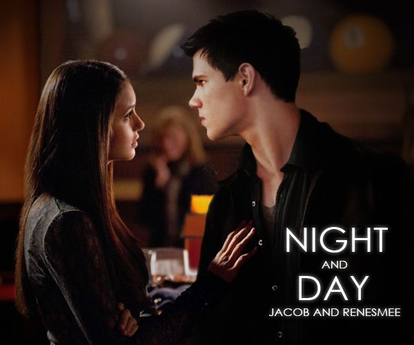 jacob black and renesmee cullen - 600×500