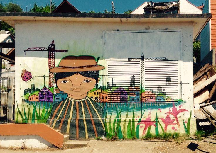Street Art in Castro Chili