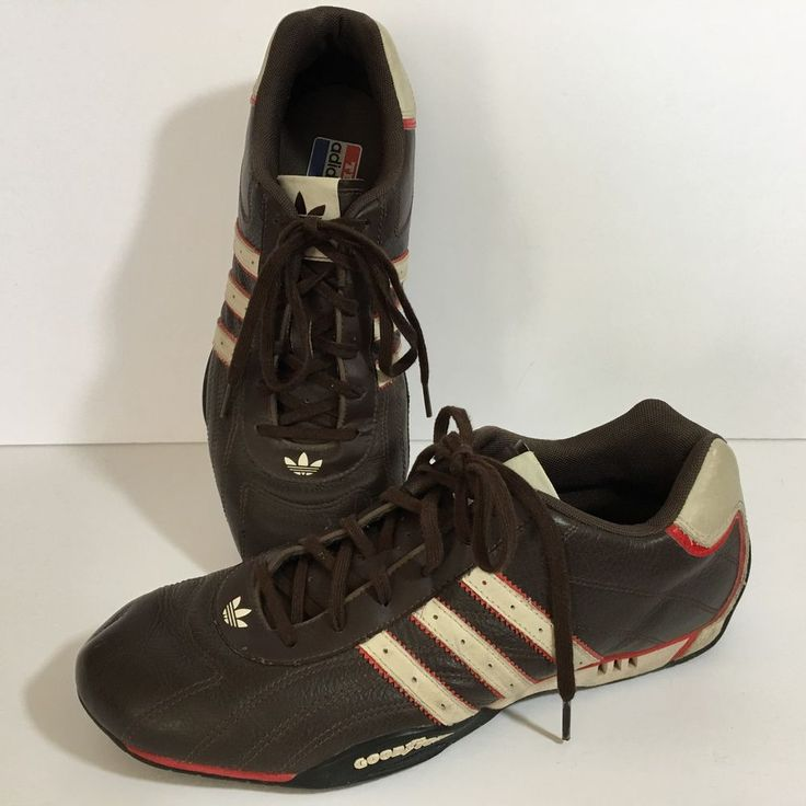Team Adidas Goodyear Adi Racer Size 10 Lo 2005 Race Car Driver Racing Shoes  #adidas #AthleticSneakers