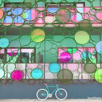 """Não tenho dúvida que viajar nos torna mais criativos! Já imaginou embarcar em uma aventura e de quebra ter uma bicicleta retrô como companhia? Fala sério, é inspiração para dar e vender, né? Foi com essa ideia que o fotógrafo Martyn Holland, da Inglaterra, criou o @smartstagram, que mostra uma bike """"viajando e posando"""" por aí. Só tem foto linda, bora conhecer?"""