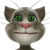 Talking Tom Cat - responds to your touch and repeats everything you say with a funny voice.
