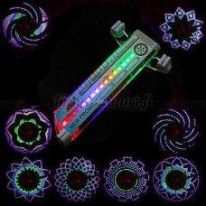 Pinnavalo polkupyörään, 16 LED-valoa