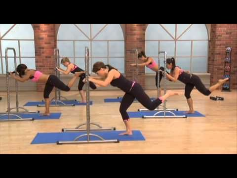 Turbo Barre Exercise:  Focuses on strength, flexibility, and high energy fun.