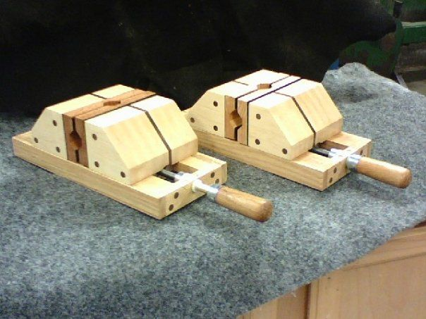 Project Submission – Wooden Drill Press Vices