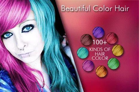 Change Hair And Eye Color- screenshot thumbnail