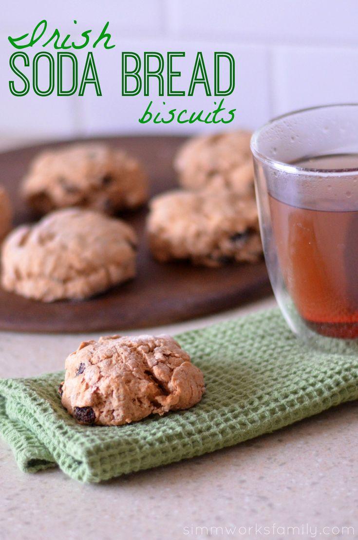 Irish Soda Bread Biscuits Recipe
