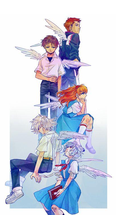 Evangelion angels