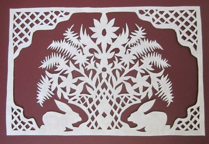 Paper cutting number 97!  This has become an addiction!  The cutting is 5 inches x 3 inches.