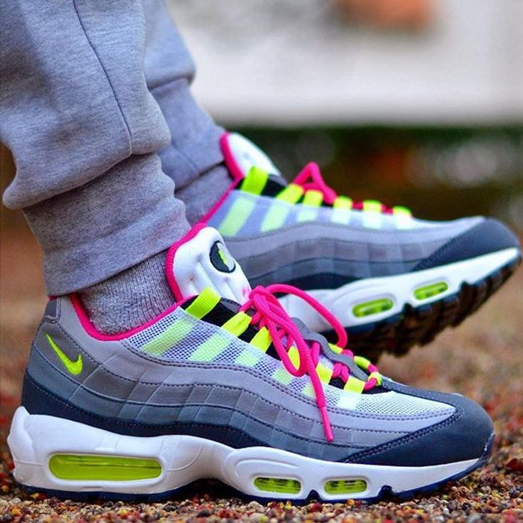 Nike Air Max 95 Pink And Blue