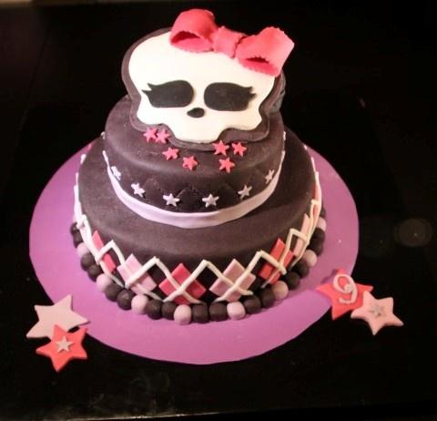 Tarta Monster High - Monster High cake