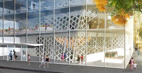 Open Glass Islamic Culture Center for NYC | Buro Koray Duman | ASMA