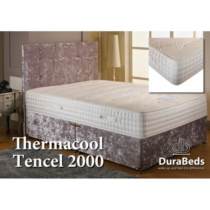 Dura Beds Thermacool Tencel 2000 Divan Set. Free delivery!