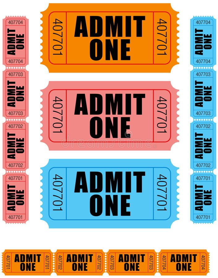 Admit One Tickets 1 Group Of Sequentially Numbered Admit One Tickets In Orange Sponsored Sponsored Sponsored Ti Admit One Ticket Admit One One Ticket