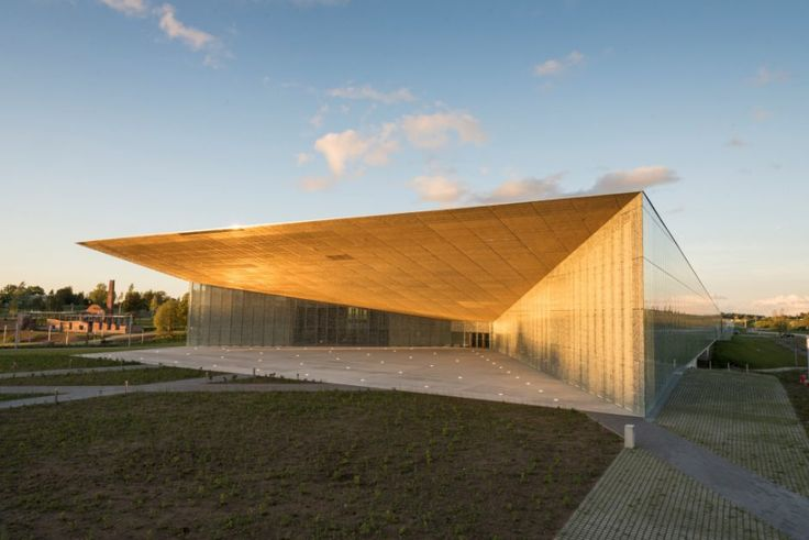 The state-of-the-art Estonian National Museum, built on a former runway, was designed to represent the country's emerging history.