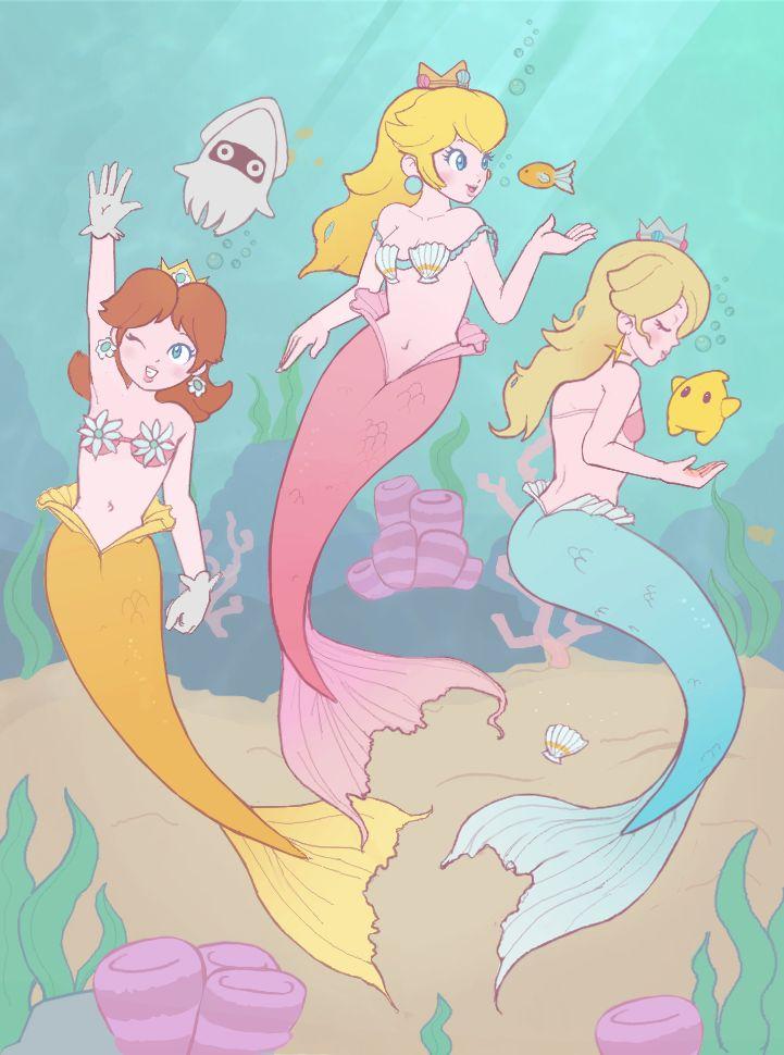 Request - Mer!Princesses by littlemiss-princess.deviantart.com on @deviantART  #mermaids