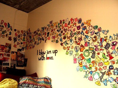 Pokemon Room Decorating Ideas
