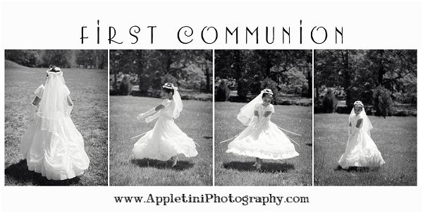 Love this spinning sequence!  What little girl doesn't love to twirl??  Great photography idea!