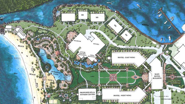 48 best images about master plan on pinterest villas for Hotel layout design