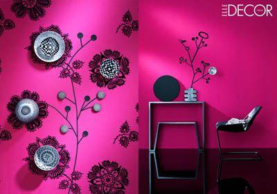 Fiocca #pink for #ElleDecor