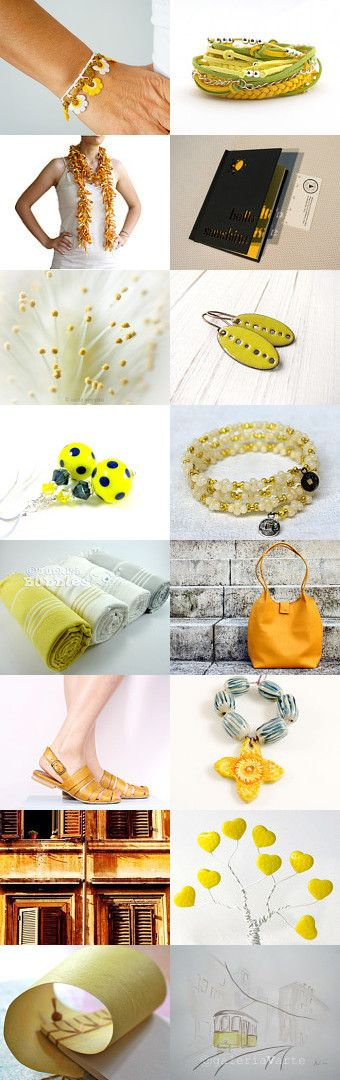 The color of the sun by Bibe Jewelry on Etsy--Pinned with TreasuryPin.com