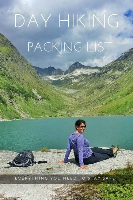 Day Hiking Packing List: Everything you need to stay safe while spending a day in the mountains!