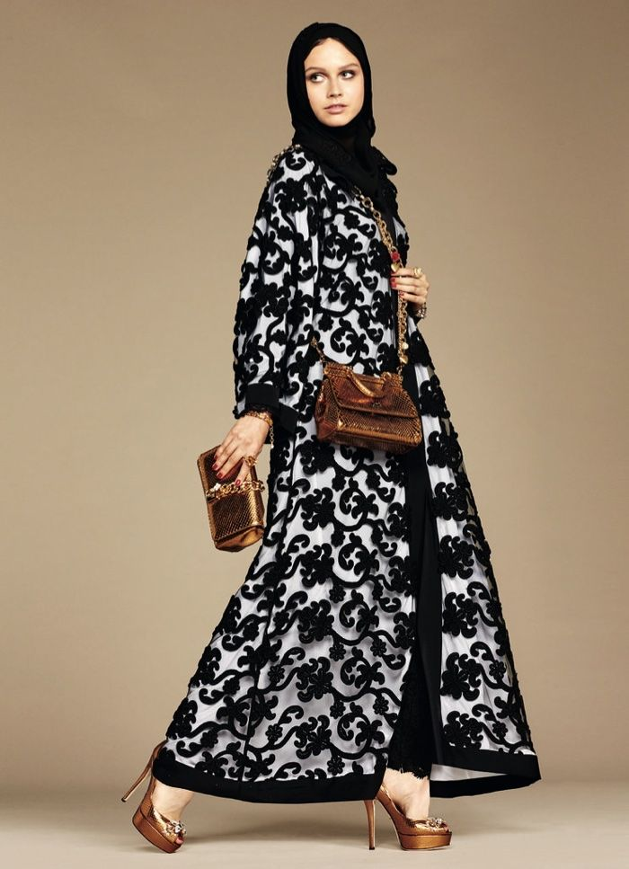 Dolce & amp; Gabbana Modest Hijab Collection Spring 2016